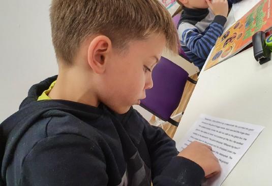 Контроль навыков чтения