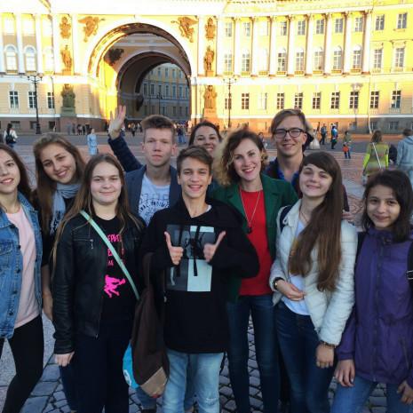 Языковая поездка в Санкт-Петербург